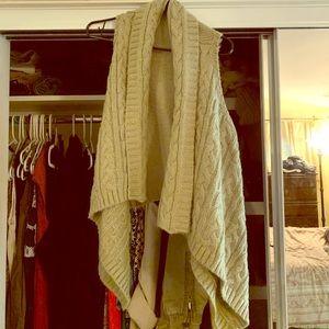 LOFT drapey vest